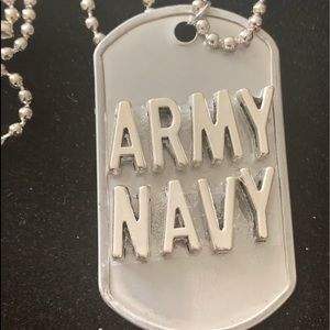 Dog Tag Necklace and Pendant